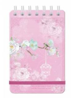 Precious and Loved Wirebound Notepad