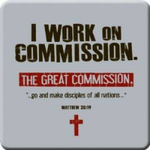 Mt 28:19 Grt Commission Meaningful Magnet