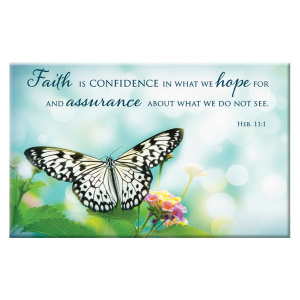Magnet - Butterfly - Heb 11:1