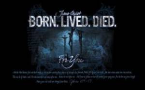 """Born. Lived. Died."" Pass-Around Cards"