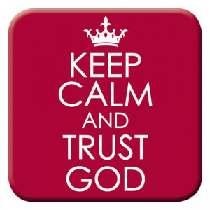 Keep Calm & Trust God Magnet