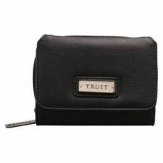 Wallet w/ Badge Trust Black