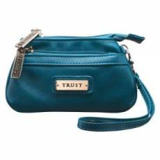 Coin Purse w/ Badge Trust Blue