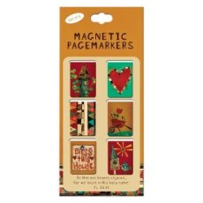 Bless This House Ps 33:21 Magnetic Pagemarker - Pack of 6