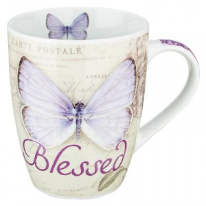 Blessed Butterfly Mug