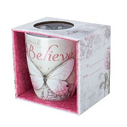Believe Butterfly Mug