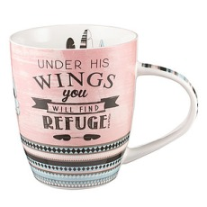 'Under His Wings' Mug - Psalm 91:4