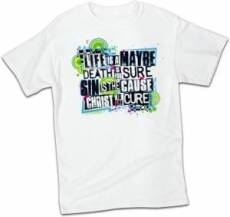T-Shirt Christ the Cure    LARGE