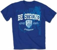 T-Shirt Be Strong Adult Large