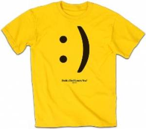 T-Shirt Smile           2X-LARGE