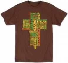 T-Shirt In Christ I Am     LARGE