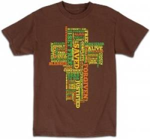 T-Shirt In Christ I Am   X-LARGE