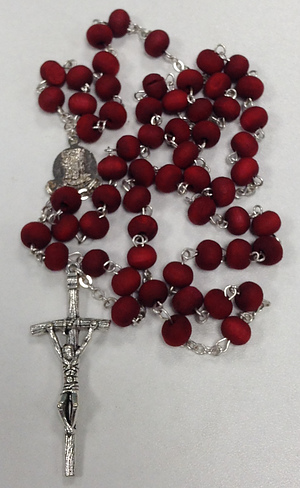 Rose Perfumed Wooden Rosary