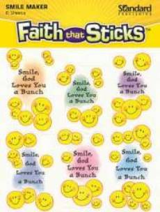 Smile God Loves You A Bunch Sticker6 Sheets