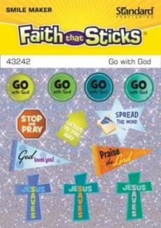 Go With God Stickers