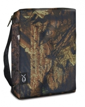BIBLE COVER AUTUMN FOREST CAMO