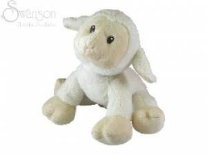 White Plush Lamb With Sound