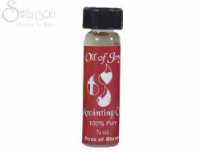 Anointing Oil Rose Of Sharon Pack of 6