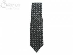 Tie: Brushed Fish & Cross Green