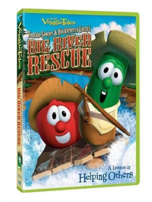 Tomato Sawyer And Huckleberry Larry's Big River Rescue DVD
