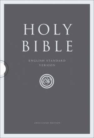 ESV Compact Bible: Two-tone, Imitation Leather, British Text