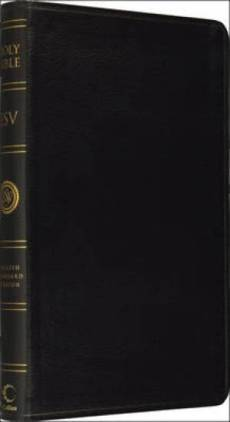 ESV Bible Anglicised Black BondedLeather