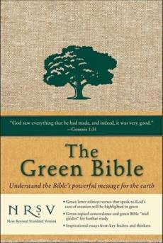 NRSV Green Bible: Cloth/Hardback