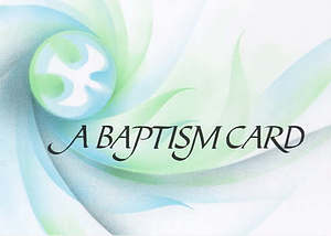 Baptism Card - Pack of 20