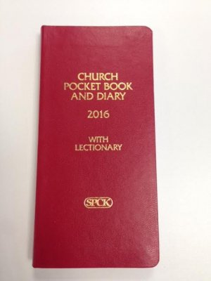 Red Church Pocket Book and Diary 2016