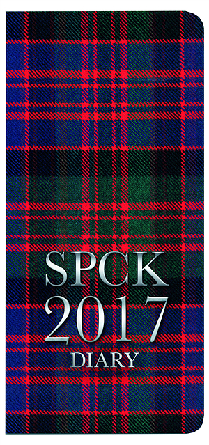 Tartan Church Pocket Book and Diary 2017