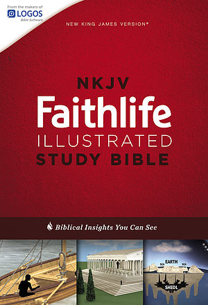 NKJV Faithlife Illustrated Study Bible, Red Letter Edition
