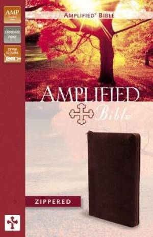 Amplified Zippered Collection Bible