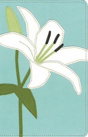 KJV Thinline Bloom Collection Compact Edition Bible - Lillies