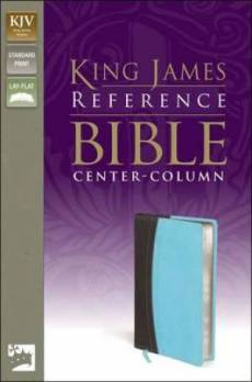 KJV Reference Bible Imitation Leather Turquoise