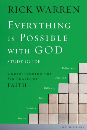 Everything is Possible with God Study Guide