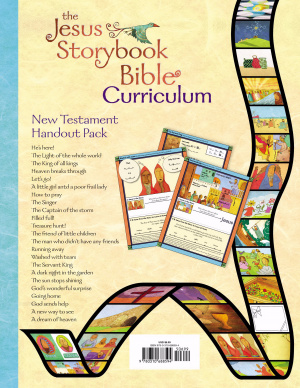 Jesus Storybook Bible Curriculum Kit Handouts, New Testament