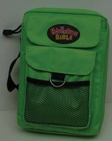 Bible Cover Green Med Adventure