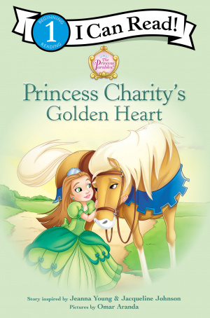 Princess Charitys Golden Heart Pb