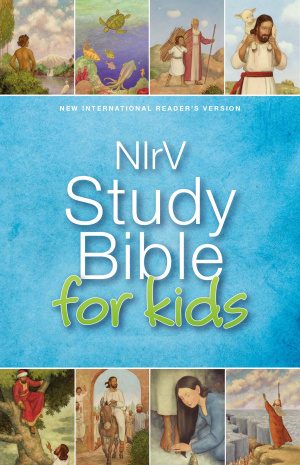 NIrV, Study Bible for Kids, Hardcover