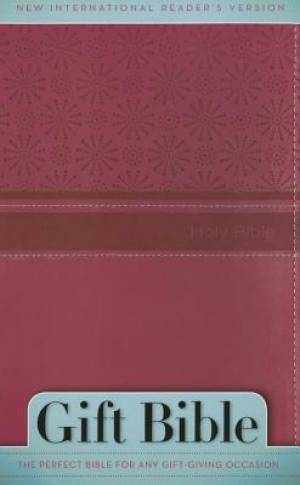NIrV, Gift Bible, Imitation Leather, Pink