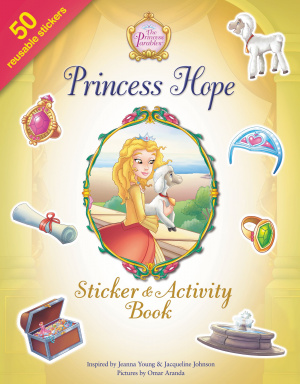 Princess Hope Sticker and Activity Book