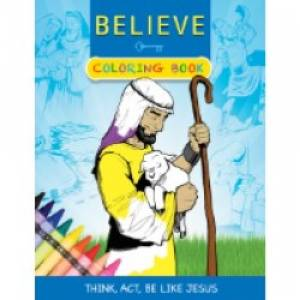 Believe Coloring Book