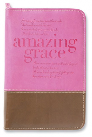 Amazing Grace Cover Italian Duo-Tone Orchid/Chocolate Large