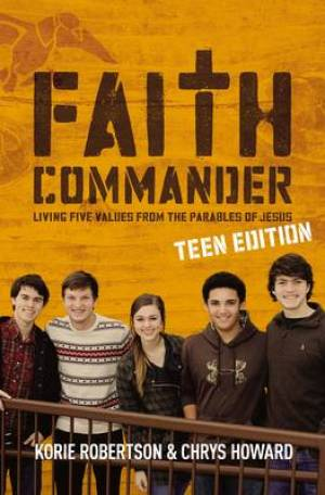 Faith Commander Teen Ed Dvd And Study Gd