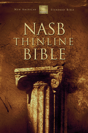 NASB Thinline Bible: Burgundy, Bonded Leather