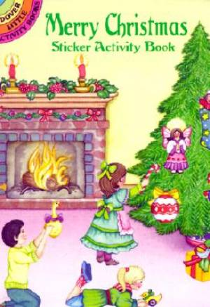 Merry Christmas Sticker Activity Book