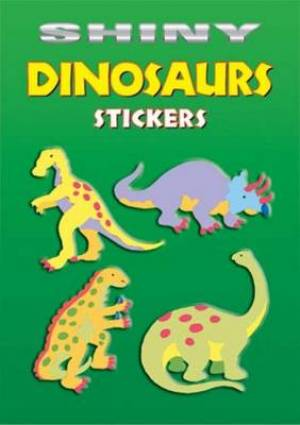 Shiny Dinosaurs Stickers