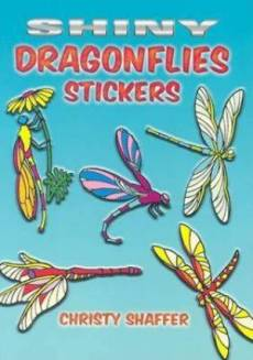 Shiny Dragonflies Stickers