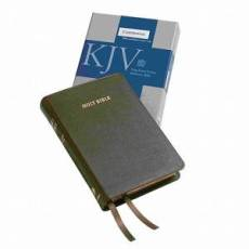 KJV Cameo Reference Edition KJ455:XR Brown Calfskin Leather