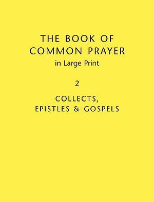 Book of Common Prayer Vol 2 Large Print